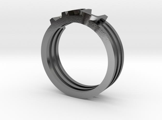 YFU Triple Wire Ring 3d printed