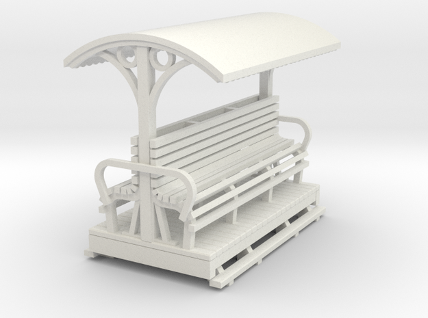 Sn2 Open Longitudinal seat coach 3d printed