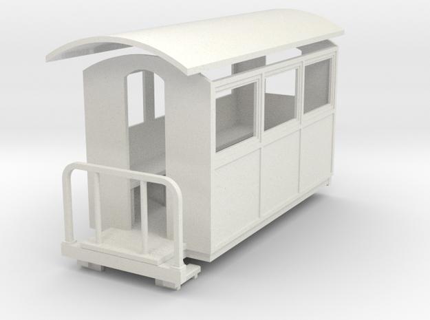 Sn2 Closed coach  in White Natural Versatile Plastic
