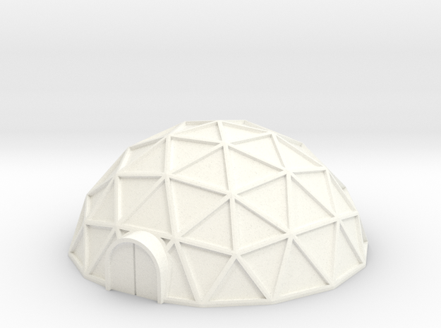 Geodome ⌀42mm (1/285) 3d printed
