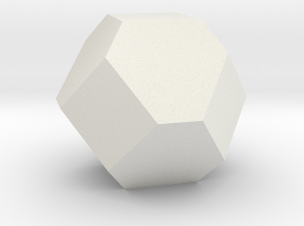 Gold in White Natural Versatile Plastic