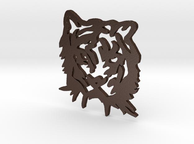 NODE - Tiger Pendant - 3d printed