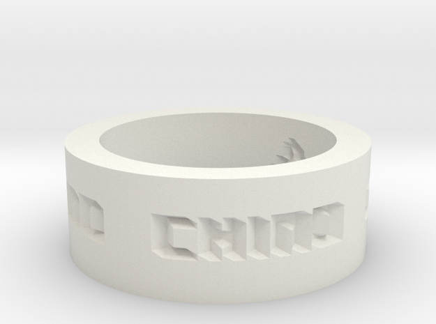 by kelecrea, engraved: A text 3d printed