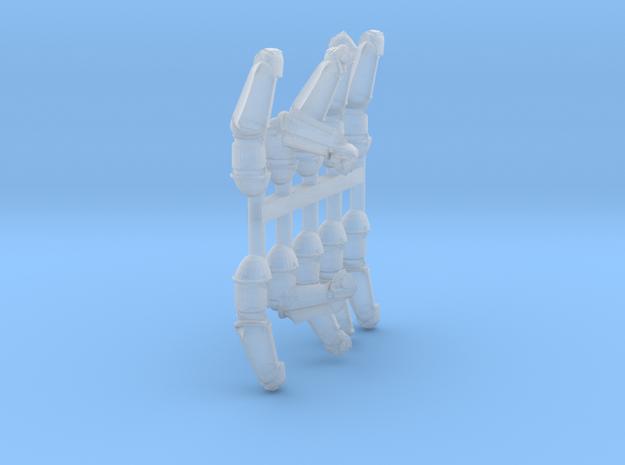 Cultist Arm Sprue 2 in Smooth Fine Detail Plastic