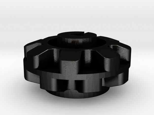 Pololu  8 Cog Wheel For Motor 3d printed