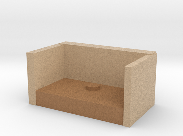 Mini Secondlife Style Photo Stage in Full Color Sandstone