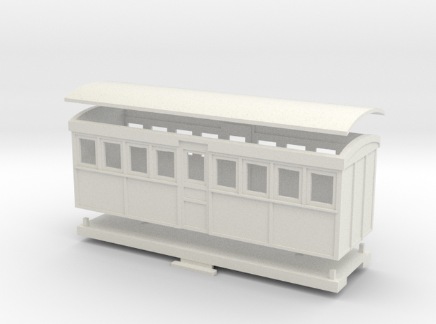 HOn30 20 foot Bogie Tramway Carriage (A)