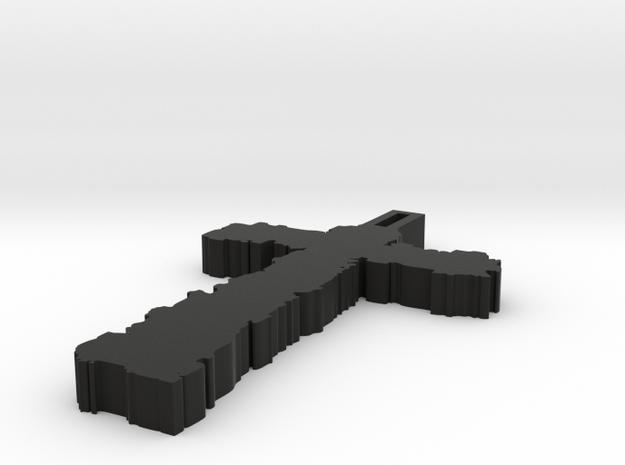Raw Cross 3d printed
