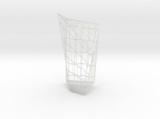 VoronoiTest3 in White Natural Versatile Plastic