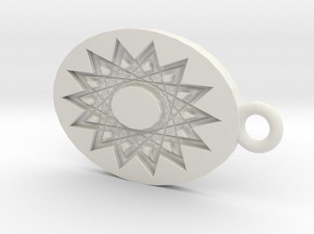 Mandala Shadow 3d printed