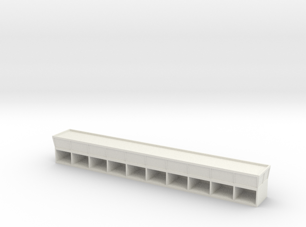 Pit Building Light in White Natural Versatile Plastic