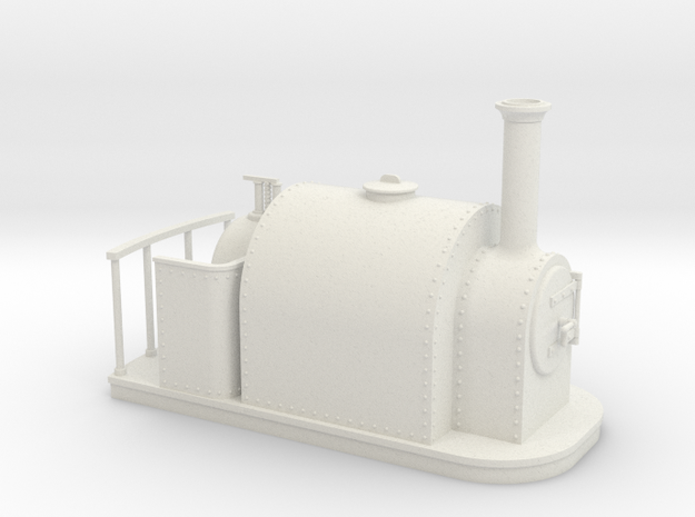 On16.5 old style full saddle tank 3d printed