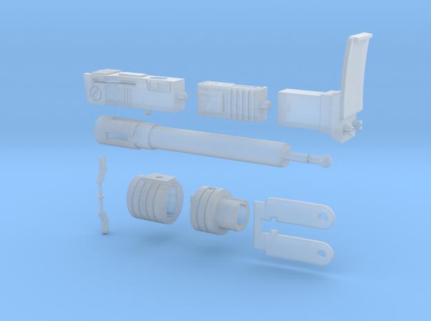 WST Megatron Set in Smooth Fine Detail Plastic