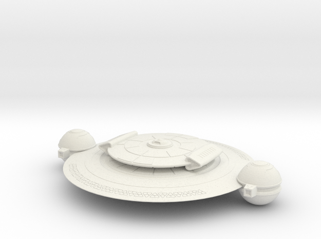 Fang Cruiser Main (fixed) in White Natural Versatile Plastic