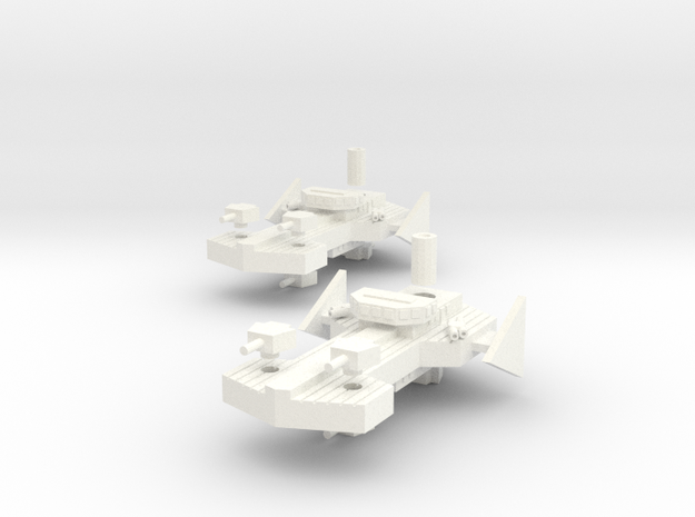 Havi Class Destroyer 3d printed