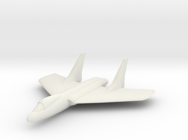 F7U Cutlass 1:285 x1 in White Strong & Flexible