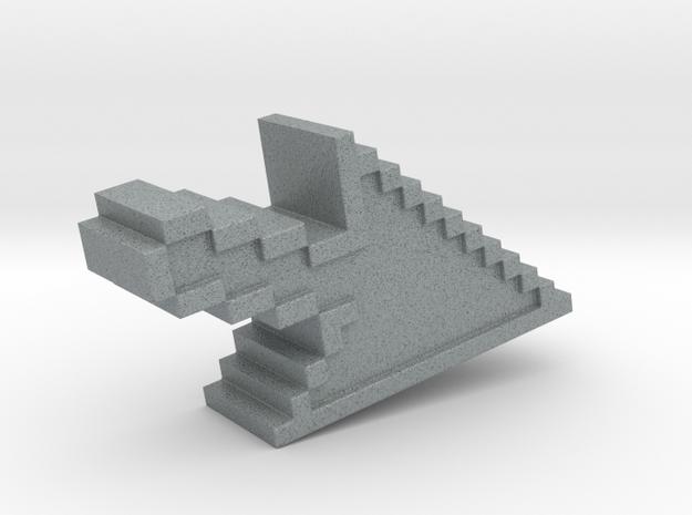 Pixel Click Pendant - Earring 3d printed mouse click
