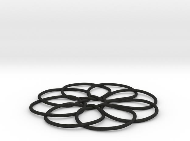4D Circular Hypercube (tesseract)