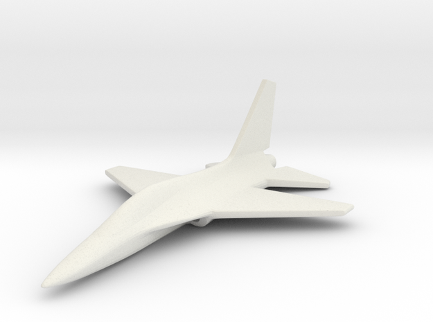 1/285 (6mm) T-50 Eagle Trainer Korean 3d printed