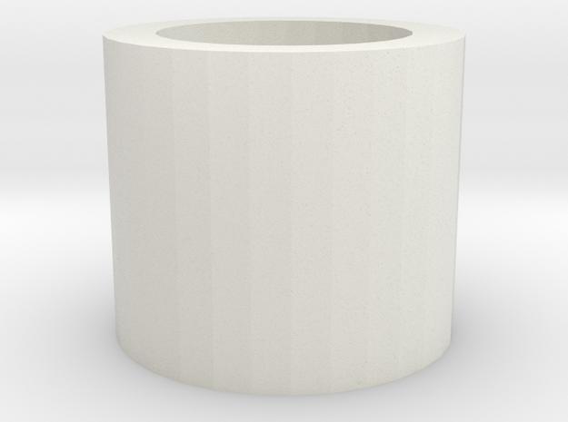 DE-FM in White Natural Versatile Plastic