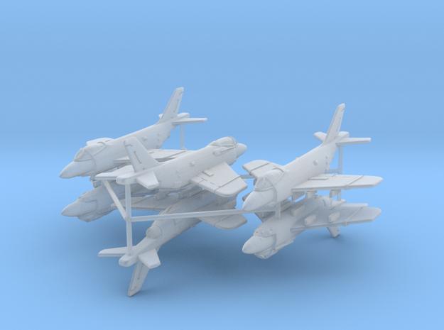 1/600 F3H Demon (x6; FUD)* in Smooth Fine Detail Plastic