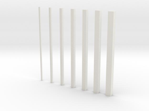 thin bars inc 0 5 3d printed