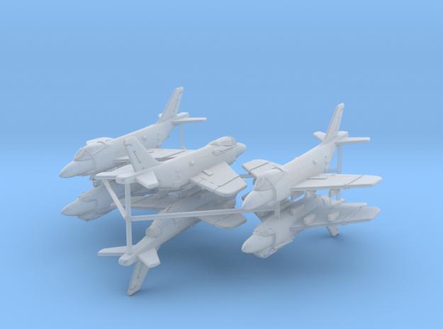 1/700 F3H Demon (x6) in Smooth Fine Detail Plastic