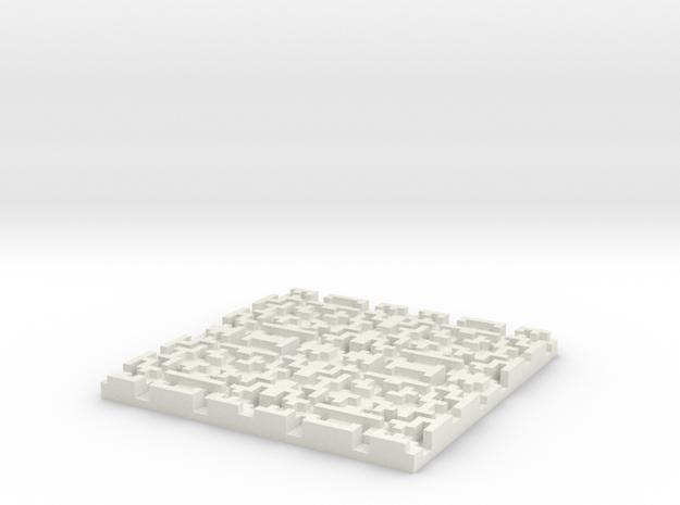 Depth Coaster 3d printed