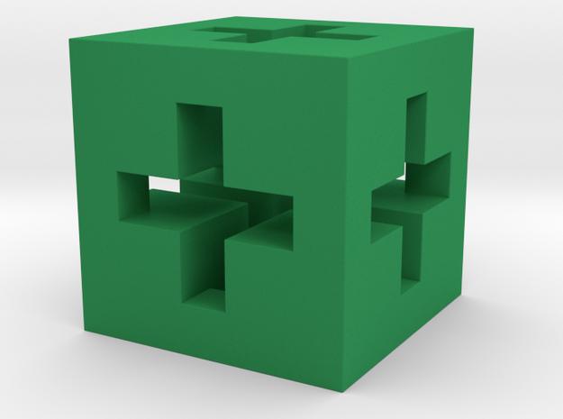 3D Swiss Cube  3d printed
