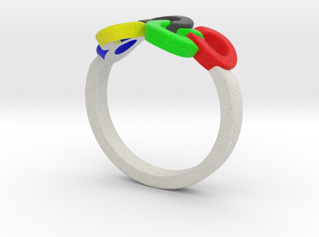 Olympic Ring-sz20 3d printed