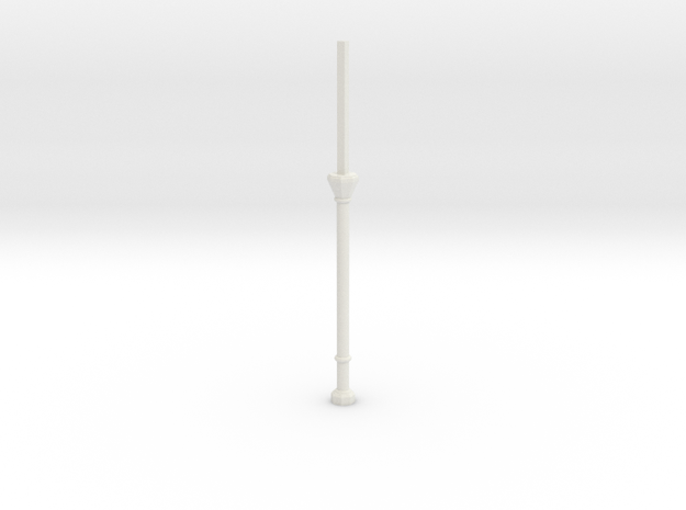 C1X Column Stub in White Natural Versatile Plastic