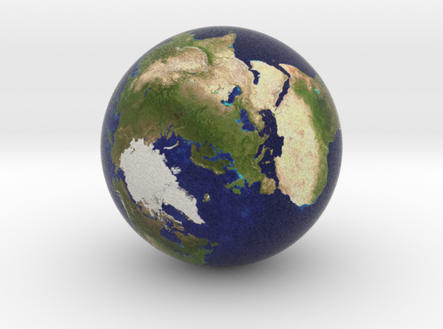 Earth Marble 0.5 inches in Diameter