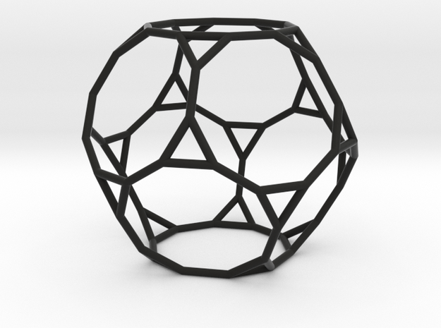 TruncatedDodecahedron 100mm 3d printed