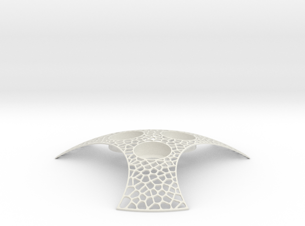 Empathy Rhino v1 stl in White Natural Versatile Plastic
