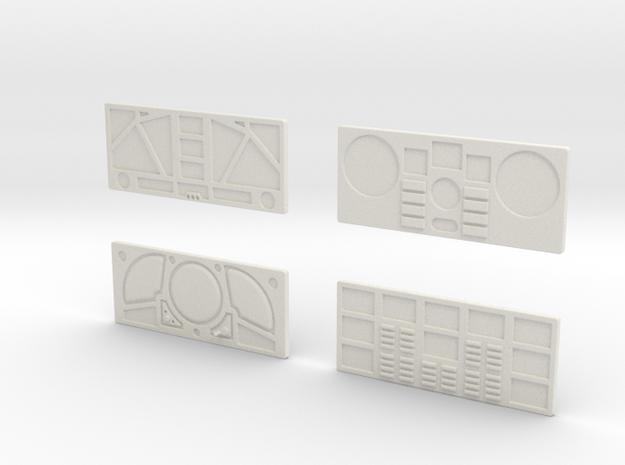 CP11 Flat Control Panels Design (28mm)