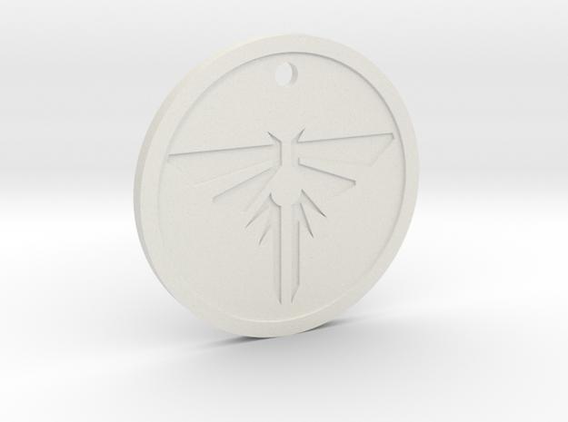 The Last of Us: Firefly pendant (Joe Warren) in White Natural Versatile Plastic