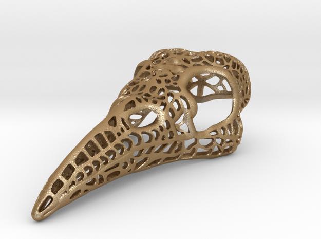 Filigree Raven Skull - Extra Large 3d printed