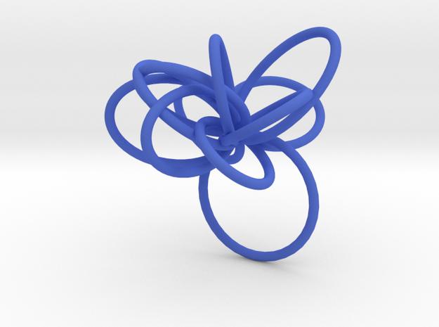 Flora Ring B (Size 7) 3d printed