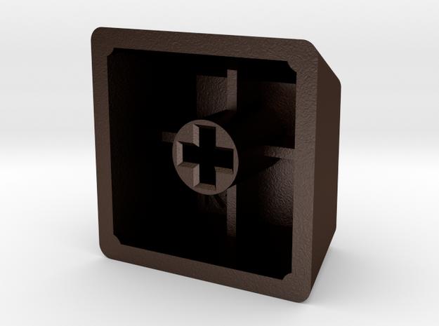 "GeekHack ""gh"" Keycap (R4, 1x1) 3d printed"