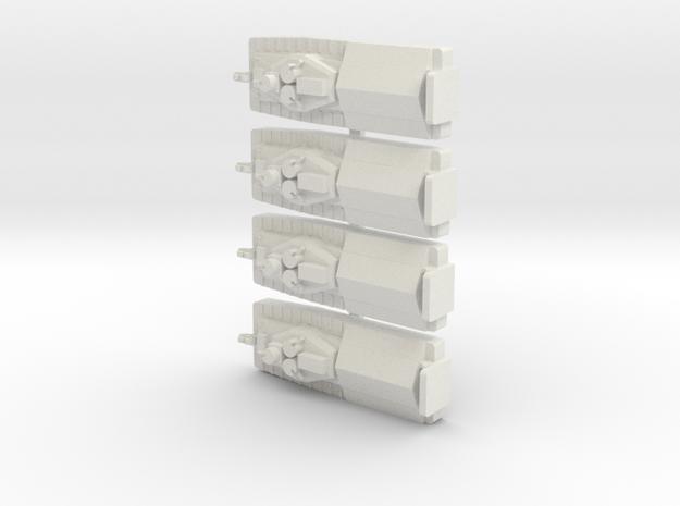 1/600 Vietnam ATC x 4 off in White Natural Versatile Plastic