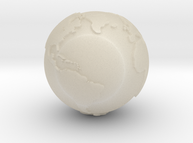 Globe, Hollow, One and Half Inch Diameter 3d printed