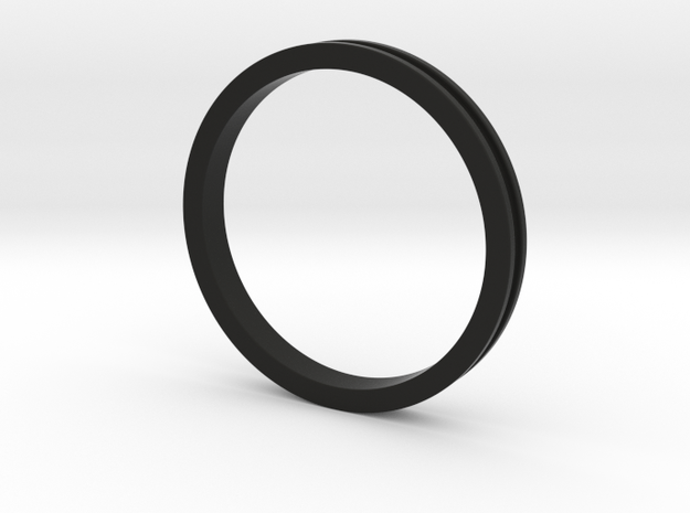 "1 1/2"" Headset spacer 5mm in Black Natural Versatile Plastic"