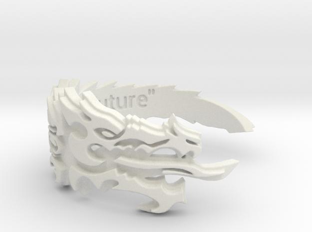 Ebonheart Pact Ring Size 10 in White Natural Versatile Plastic
