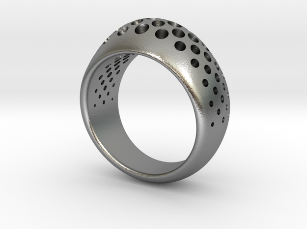 halftone in Natural Silver
