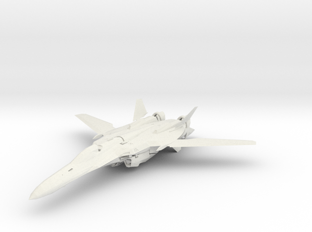 Macross VF-25 in White Natural Versatile Plastic