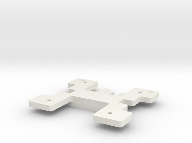 Dell ST2220 VESA Bracket Adapter in White Natural Versatile Plastic