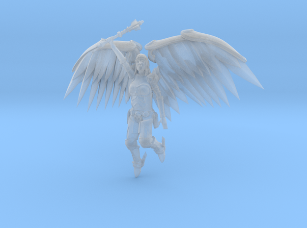 28mm Metal Angel 3d printed