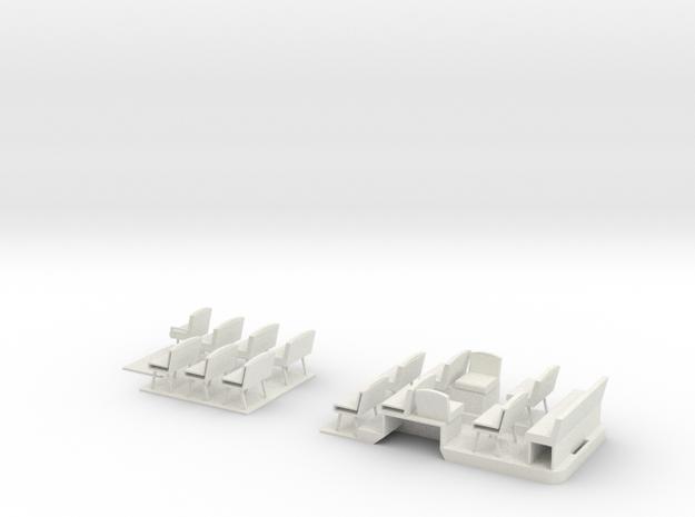 1:43 London Transport TD Bus Floor & Seats 3d printed