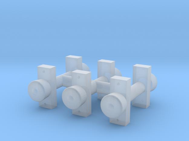 6x 3KL Rund T4D 3d printed