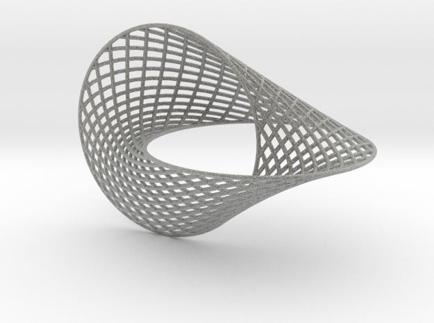 Hopf ring 5inch 3d printed